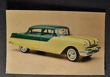 1955 Pontiac 870 4-Door Sedan Postcard Brochure Excellent Original 55