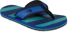 THE NORTH FACE TODDLER'S BASE CAMP FLIP-FLOPS BLUE/GREEN SIZE 8 NWT LIST $25