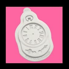 Horloge visage silicon moule katy sue décoration gâteau craft montre de poche sugarcraft