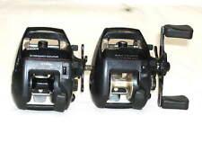 New listing Lot of 2 Shimano Bkm100/200 Lp Lo Pro Bass Casting Fishing Reels Walleye
