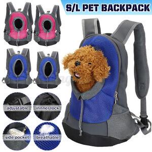 Puppy Travel Mesh Pet Dog Carrier Backpack Front Travel Portable Shoulder Bags %