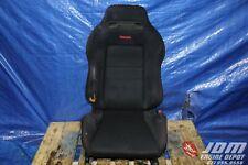 JDM 94 01 HONDA DC2 INTEGRA TYPE R ITR OEM BLACK RECARO SINGLE SEAT #1 JDM B18C