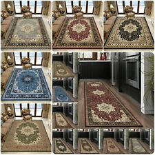 New Luxury Large Traditional Rugs for Bedroom Living Room Carpet Hallway Runner