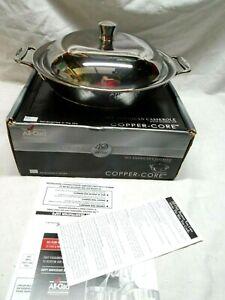 ALL-CLAD COPPER CORE 5-PLY BONDED CASSEROLE DISH RARE LIMITED EDITION