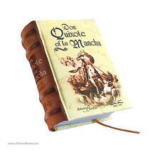 """Don Quixote of la Mancha Vol II hardcover mini book in English easy read 2.65"""""""