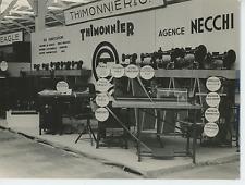 Foire Exposition de Bordeaux, 1952 Vintage silver print Tirage argentique  1