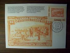 CANADA POSTAL CARD 1982 INTERNATIONAL PHILATELIC YOUTH EXHIBITION FREE US SHIP