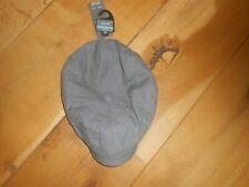 Marks & spencer linen flat cap brand new grey size M