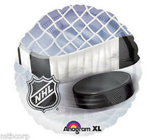 "18"" Mylar  NHL HOCKEY Stick Puck Net Stanley Cup Birthday Party SPORTS  Balloon"