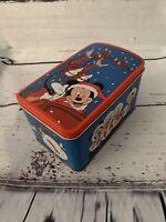 Vintage Disney Christmas Mickey Minnie Donald Goofy Santa Sleigh Rectangle Stora