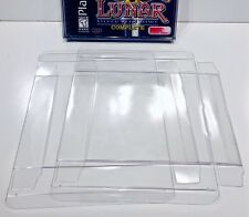 10 DUAL DISC Box Protectors  Fits Over Jewel Case!  Playstation 1 PS1 Dreamcast