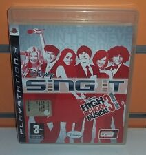 Disney Sing-It High School Musical 3 PS3 USATO ITA