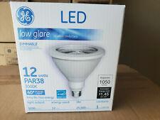6 GE 92973 | 12W LED PAR38 3000K I Dimmable Low Glare I 1050 lm 40 Degree Flood
