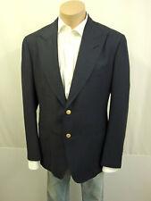 TOM FORD Sakko Jacket Gr.56R Einreiher Jacke Wolle Mohair Maulbeerseide Blau