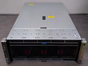 HP ProLiant DL580 G9 Rack Server (4U), 4 x E7-4809 v3 CPUs (32 cores), 256GB RAM