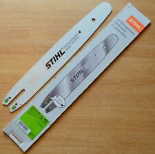 "Genuine Stihl 14"" 35cm Chainsaw Guide Bar MS171 MS170 017 3005 000 3909 Tracked"