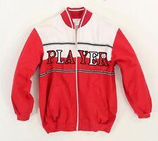 1990's Vintage Women's Graphic Sports Jacket Player Baseball Novelty Windbreaker