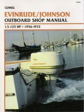1956-1972 Johnson Evinrude 1.5-125 HP Outboard Repair Manual 1957 1958 1959 B734