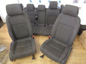 05-09 VW GOLF MK5 COMPLETE SEAT FRONT & REAR BACK FULL SEAT