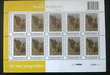 """Persoonlijke postzegels Vier Jaargetijden """"Kinderen der zee"""""""