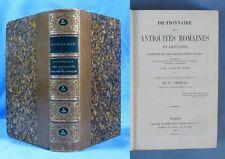 Dictionnaire des Antiquités Romaines & Grecques/ Anth. RICH / Didot 1861/ Ex-Lib