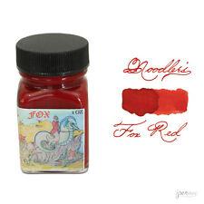 Noodler's Eternal Fountain Pen Ink, 1 oz. Bottle, Fox Red
