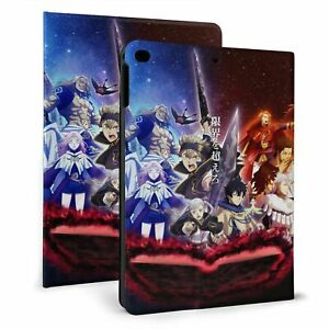 Black Clover Anime Printed Case for iPad 8/7th Gen Air 2/3 2017-2020 Stand Cover