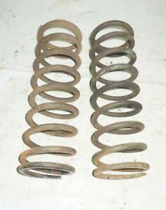 1982 Delorean DMC 12 OEM Set Of Front Springs - Right & Left