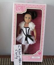 "LORI Our Generation Doll Drea Brunette Blue eyes White Dance BALLET outfit 6"""