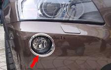 2pcs Chrome For BMW X3 F25 2011-2017 Front Bumper Fog light lamp Cover Trim