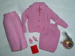 Barbie Knitting Pretty Repro / Reproduction Fashion ~ Newly Unboxed Condition