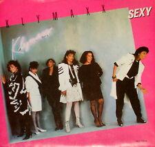 "KLYMAXX ""SEXY/(Longer Version)"" CONSTELLATION 52934 (1987) 45rpm & PICTURE SLV"