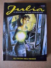 Julia n°1 Gli Occhi dell'abisso edizione MIGNON cartonato Lo Scarabeo [C71]