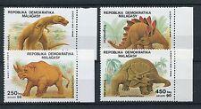 Madagaskar 1172/75 postfrisch / Dinosaurier ..............................1/3039