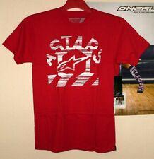 Alpinestars Haze Cross T-Shirt Tee Freestyle NEU Enduro M Rot Honda Thor A-Stars