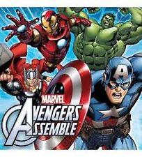 The Avengers / Marvel Avengers Party Supplies Napkin/Serviette 16pk 33cm x 33cm
