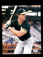 Mark Mcgwire PSA DNA Coa Hand Signed 8x10 Photo Autograph