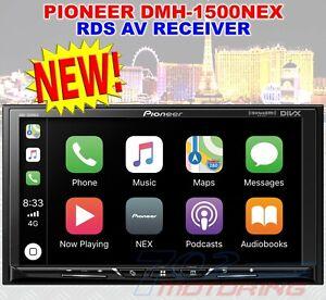 """PIONEER DMH-1500NEX 7"""" WVGA DISPLAY APPLE CARPLAY ANDROID AUTO BLUETOOTH USB AUX"""