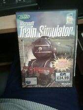 PC CD-ROM Game  Microsoft Train Simulator