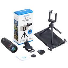 18X Telescope Zoom Mobile Phone Camera Lens iPhone Universal Clip Telefon Tripod