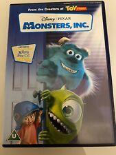 Disney PIXAR Monsters Inc. DVD FAST DISPATCH UK