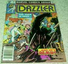 Dazzler 6, NM- (9.2), 1981 The Incredible Hulk! 66.6% off Guide!