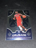 2019-20 PANINI CHRONICLES CRUSADE ZION WILLIAMSON ROOKIE RC PELICANS #529