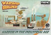 Meng Model Warship Builder - Harbor in the Industrial Age MNGWB-006