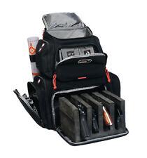 G-Outdoors Inc. Handgunner Range Backpack Black Soft Holds 4 Handguns GPS-1711BP