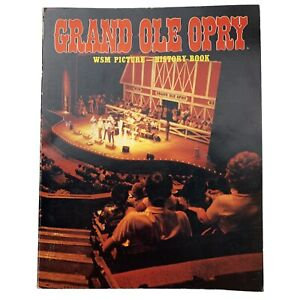Vintage Grand Ole Opry ESM Picture History Book