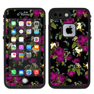Skin Decal for Lifeproof iPhone 7 Plus Fre Case / Rose Floral Trendy