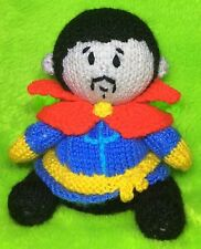 KNITTING PATTERN - Doctor Strange inspired chocolate orange cover or 14 cms toy