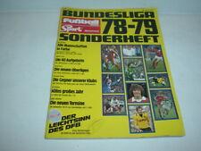 Sonderheft Bundesliga 78/79 - Sport Megaphon + Fussball Woche - 1978 1979