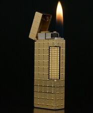 GENUINE VINTAGE DUNHILL GOLD-PLATED FLORENTINE DESIGN ROLLAGAS CIGARETTE LIGHTER